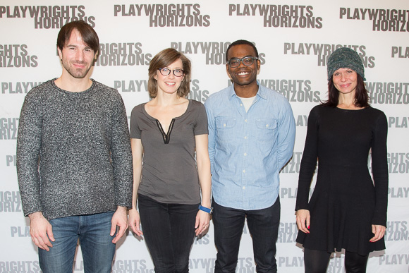 Alex Hurt, Carrie Coon, William Jackson Harper, and Florencia Lozano star in Placebo.