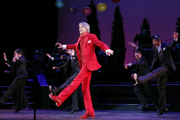 Tommy Tune leads the cast of Lady, Be Good!, directed by Mark Brokaw, as part of Encores! at New York City Center.