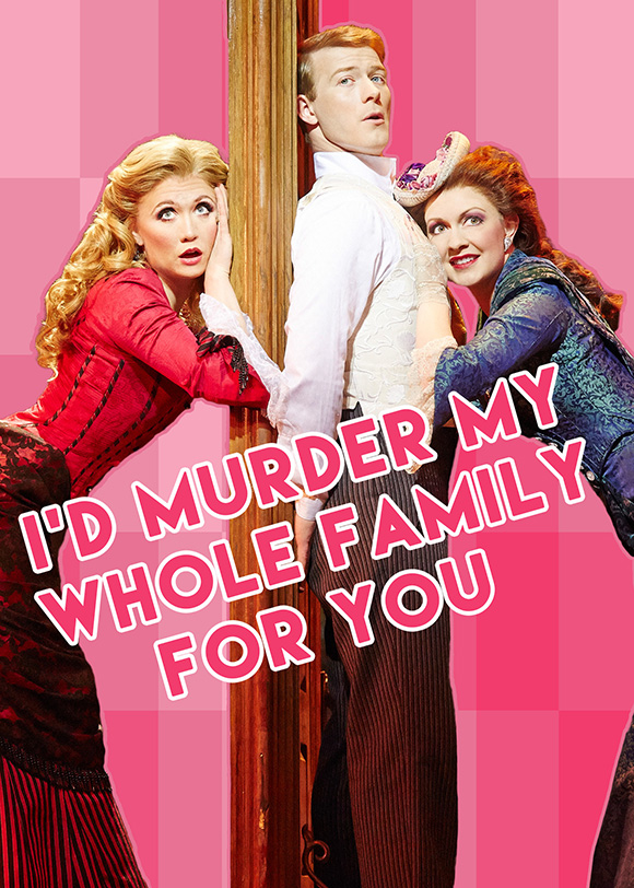 BroadwayThemed Valentines Day Cards Say I Love You Like – Musical Valentines Day Cards