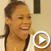 """Nikki M. James and the Cast of The Bubbly Black Girl """"Skate"""" to City Center"""