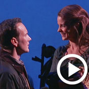 Kelli O'Hara, Patrick Wilson, and Aasif Mandvi Appear in Encores! Brigadoon