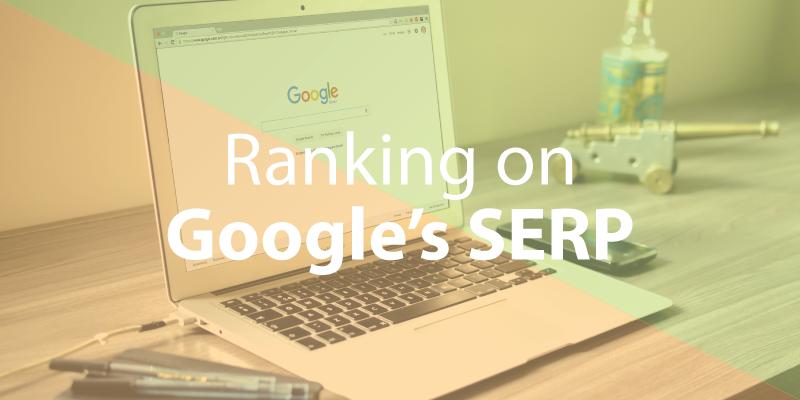 Ranking on Google's SERP