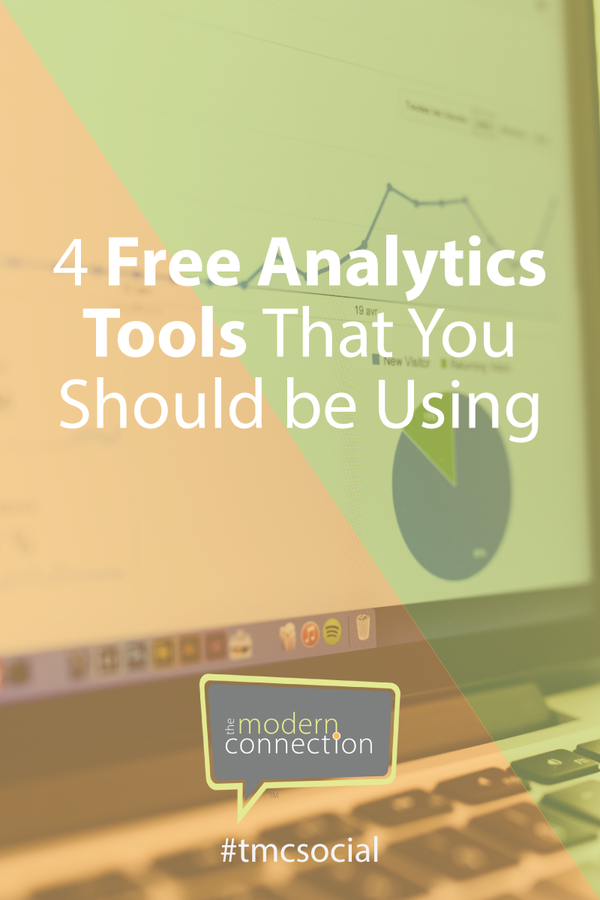 4 Free Analytics Tools That You Should Be Using