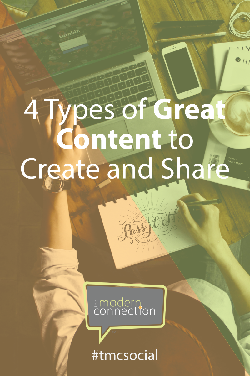 Types of Great Content to Create and Share
