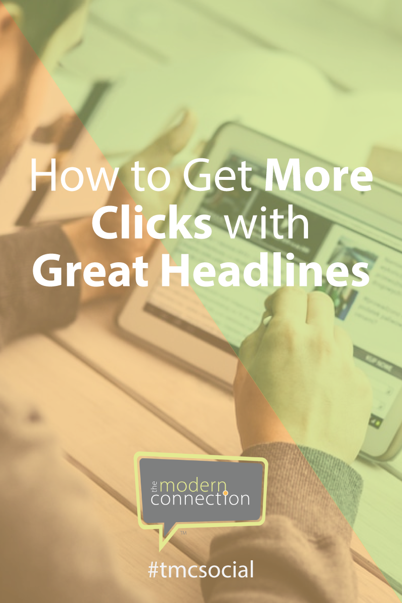 How To Get More Clicks with Great Headlines