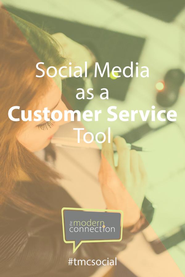 Social Media as a Customer Service Tool