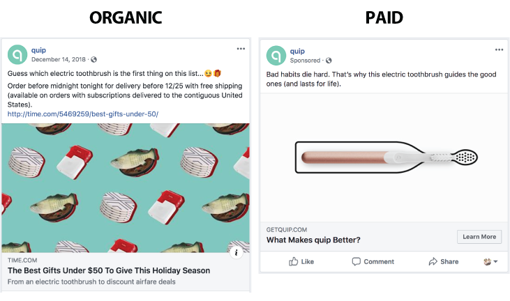 Why Your Business Needs Organic and Paid Social Media Content