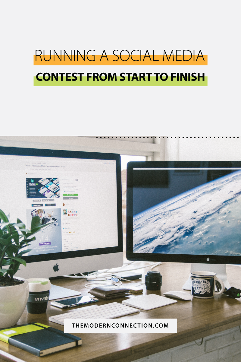 Running a Social Media Contest, From Start to Finish