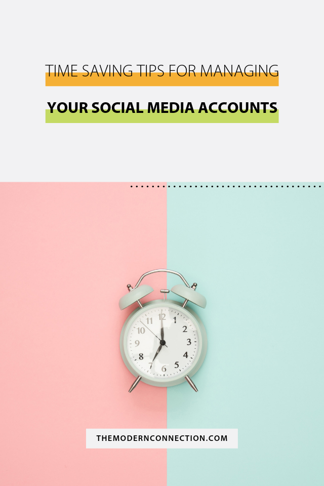 time saving tips for managing your social media accounts