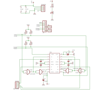 freeduino motor schematic