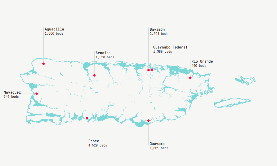 Puerto Rico Puts Its Prisons Near Flood Zones The Marshall Project