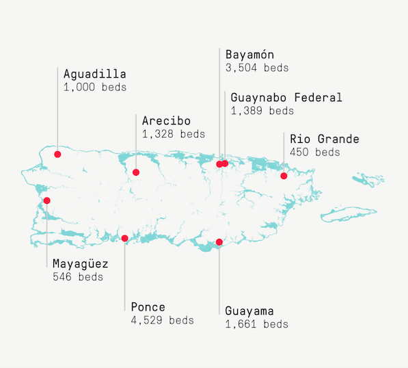 Puerto Rico Puts Its Prisons Near Flood Zones The Marshall Project - Guaynabo map