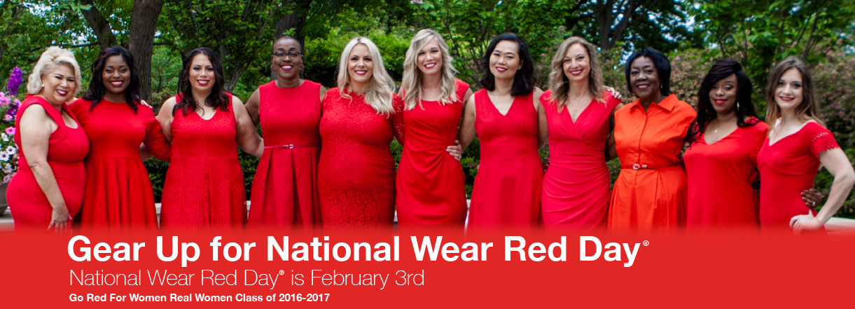 GO Red For Women!