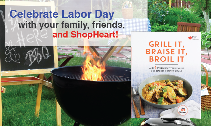 Celebrate Labor day with Heart!