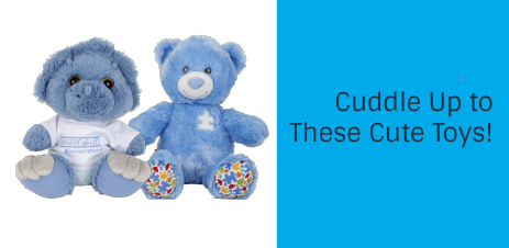 Cuddle up with these adorable toys!
