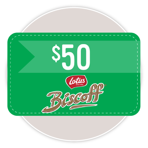 Lotus Biscoff Gift Cards