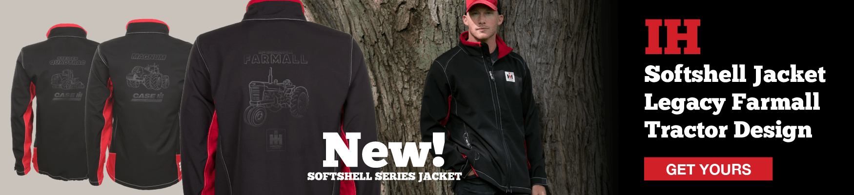 IH Softshell Jacket Farmall Design