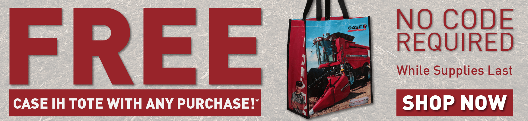 FREE TOTE WITH ANY ORDER!