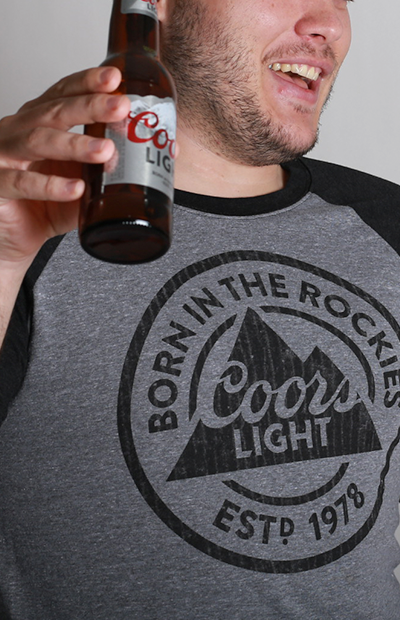 Coors Light Raglan