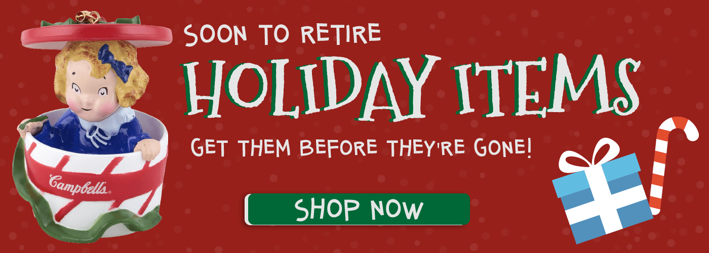 RETIRED HOLIDAY ITEMS