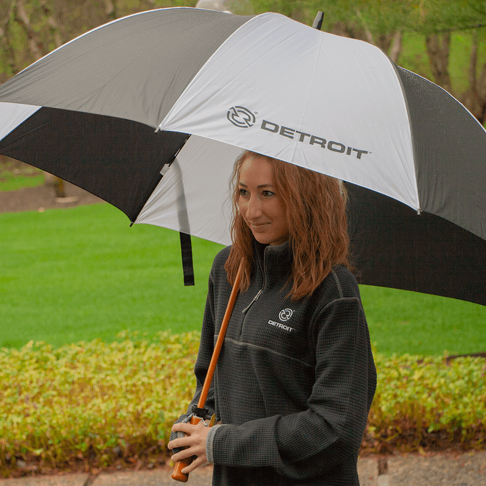 Demand Detroit Golf Umbrella