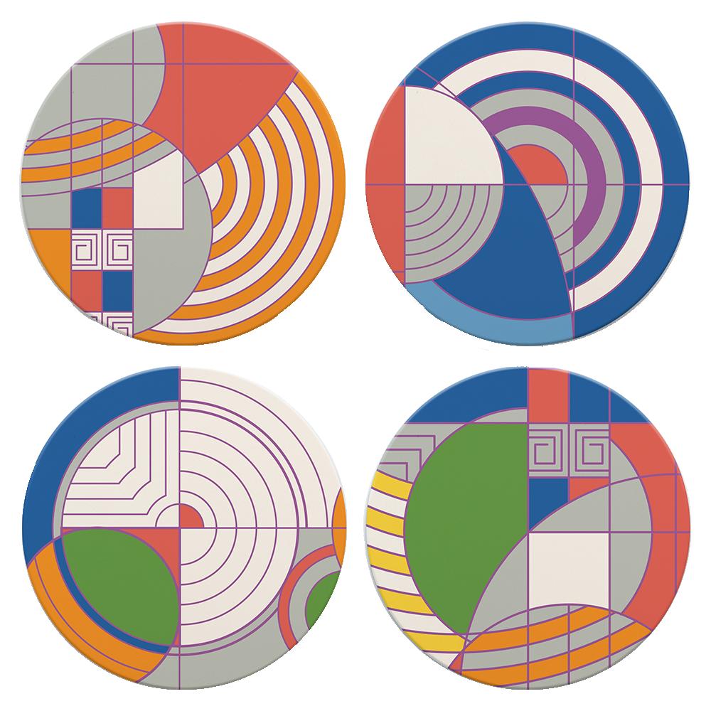 Hoffman Rug Designs Coasters
