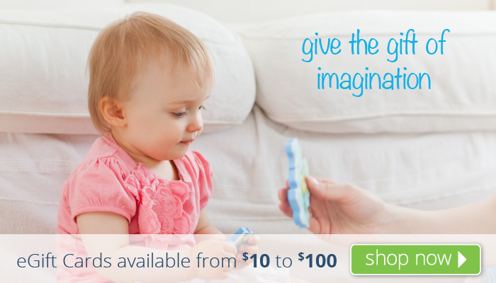 give the gift of imagination!