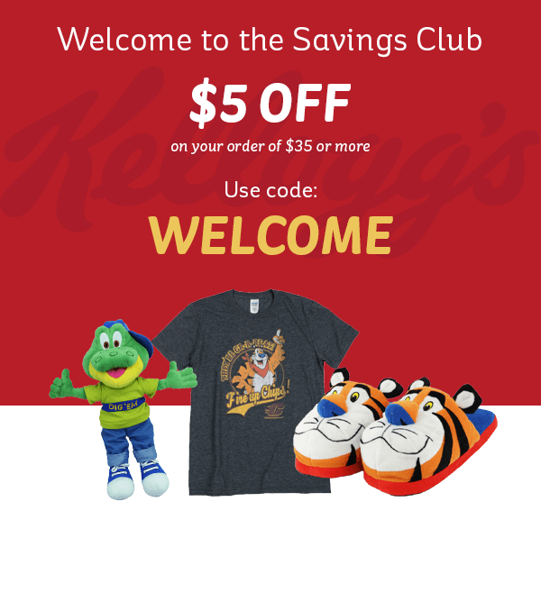 Use for WELCOME for $5 off