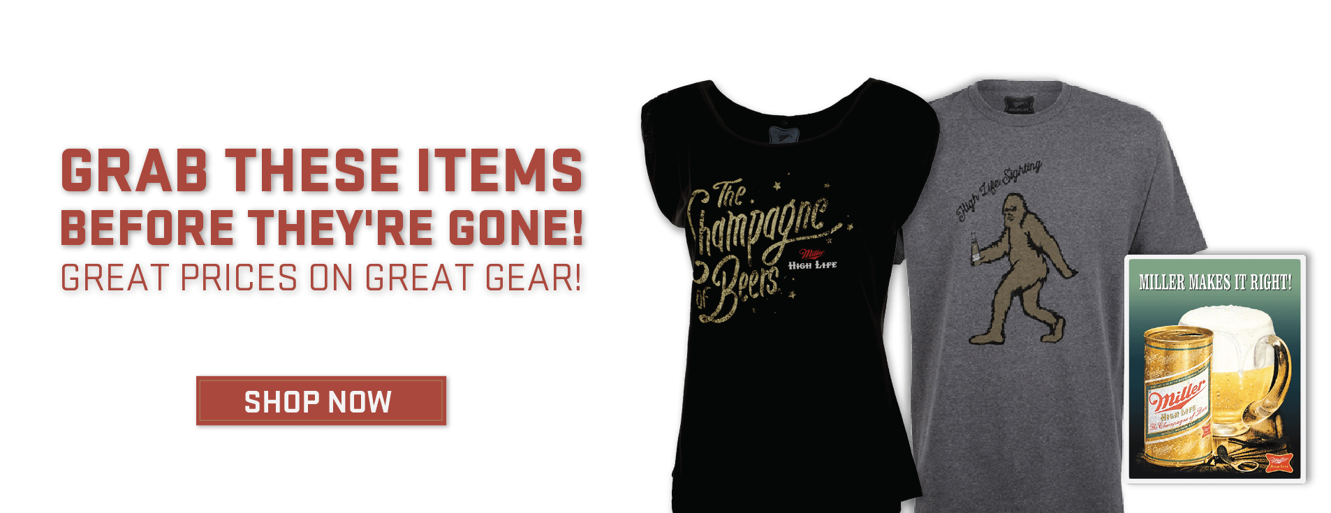 Grab These Items Before They're Gone!