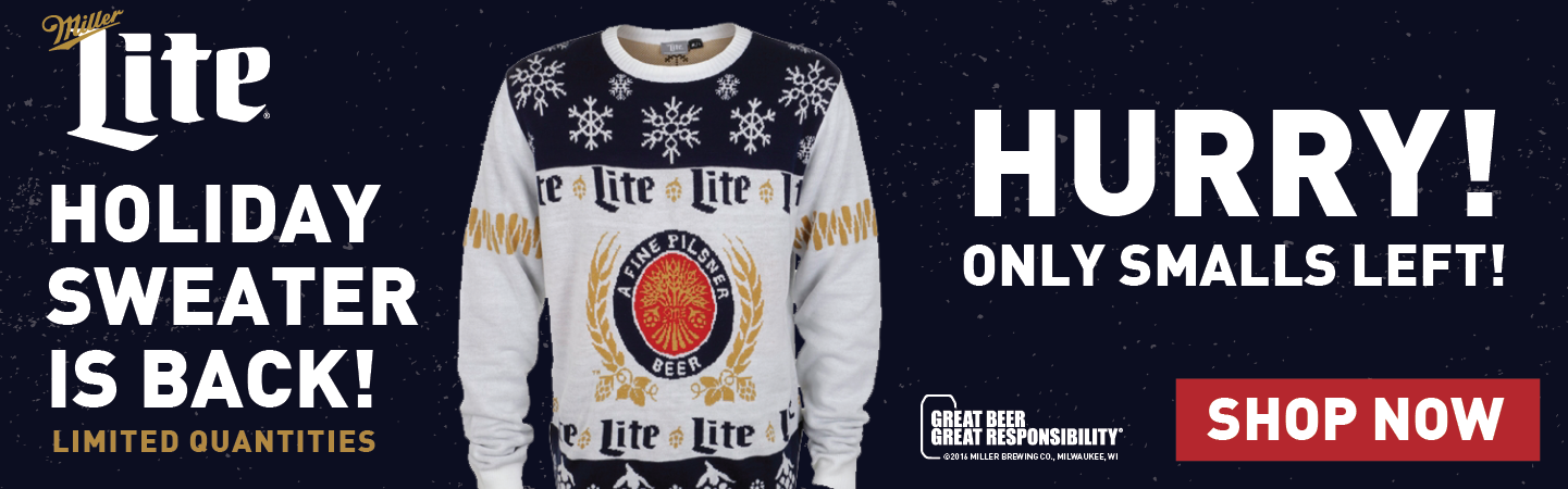 The ugly Holiday Sweater is Back!