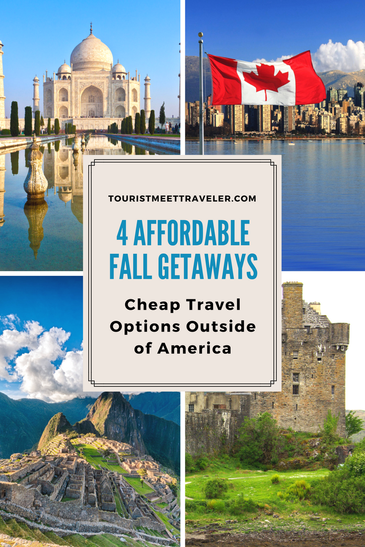 4 affordable fall getaways cheap travel options outside for Affordable romantic getaways in usa
