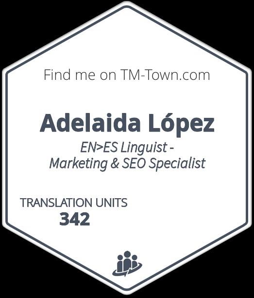 Adelaida López TM-Town Profile
