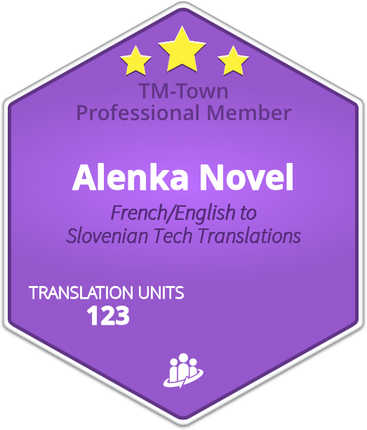 Alenka Novel TM-Town Profile