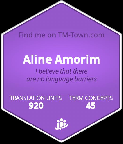Aline Alves de Amorim TM-Town Profile