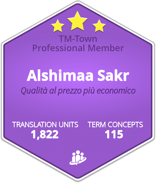Alshimaa Sakr TM-Town Profile