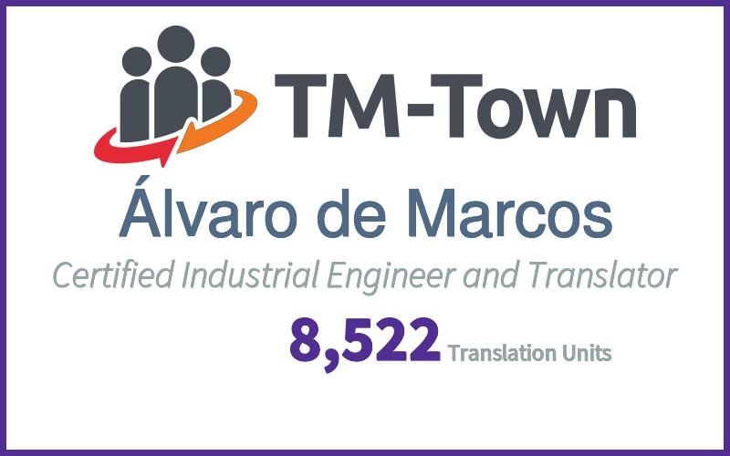 Álvaro de Marcos TM-Town Profile
