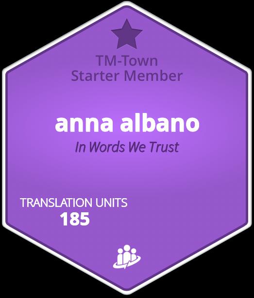 anna albano TM-Town Profile