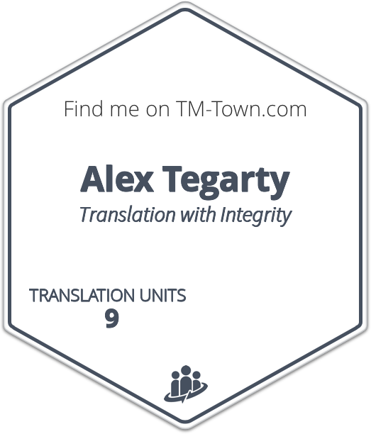 Alex Tegarty TM-Town Profile