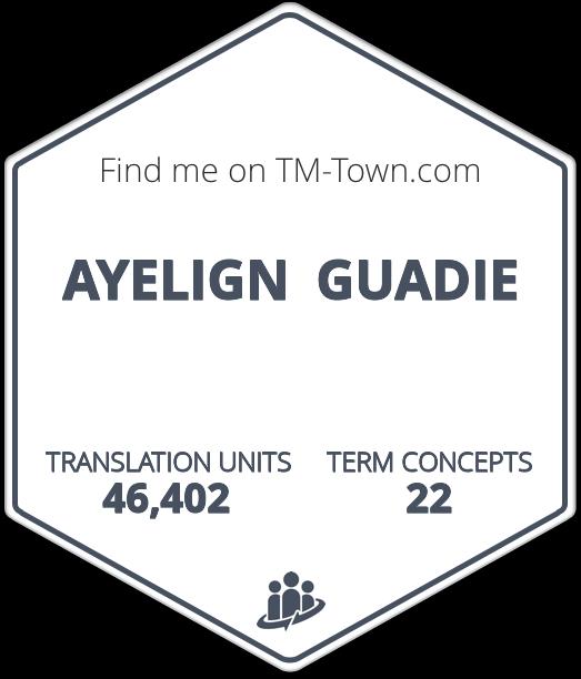 AYELIGN  GUADIE TM-Town Profile