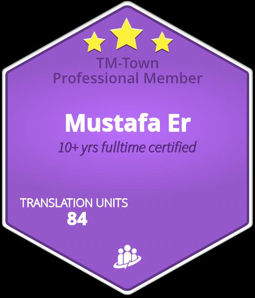 Mustafa Er TM-Town Profile