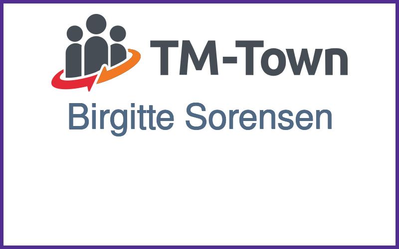 Birgitte Sorensen TM-Town Profile