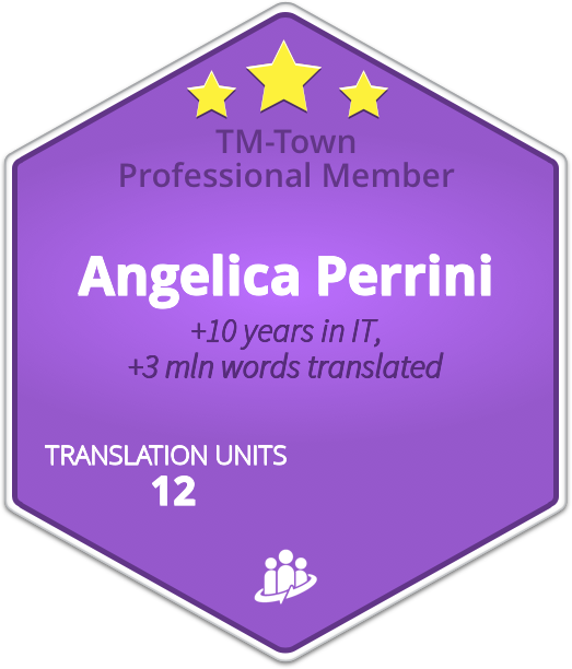 Angelica Perrini TM-Town Profile