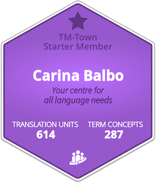 Carina Balbo TM-Town Profile