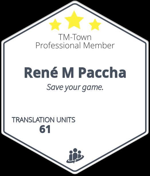 René M Paccha TM-Town Profile