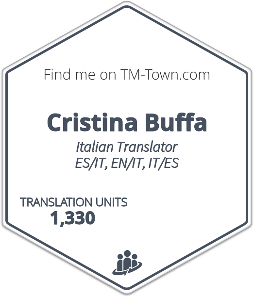 Cristina Buffa TM-Town Profile