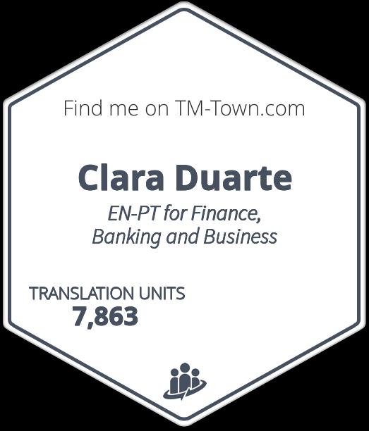 Clara Duarte TM-Town Profile