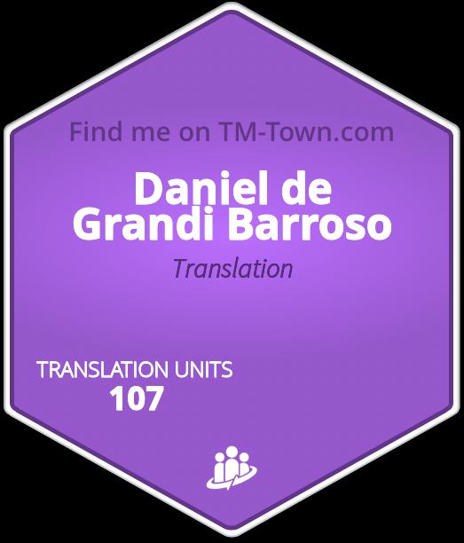 Daniel de Grandi Barroso TM-Town Profile