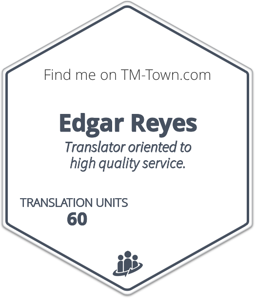 Edgar Reyes TM-Town Profile