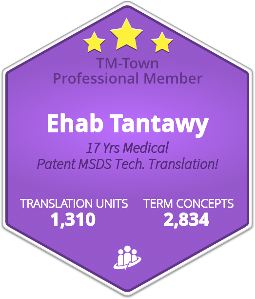 Ehab Tantawy TM-Town Profile