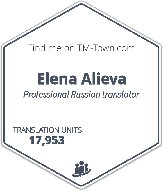 Elena Alieva TM-Town Profile